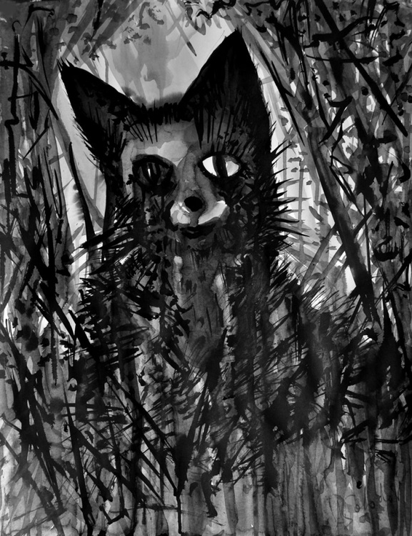Portrait of the Cat - Image 0