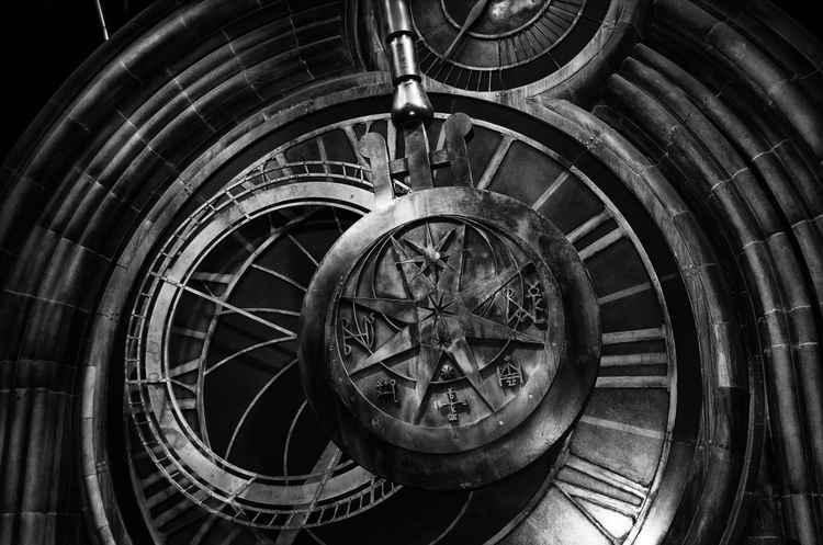 Clock at Hogwarts -
