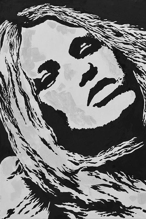 CONFIDENCE - LARGE WOMAN PORTRAIT - Image 0