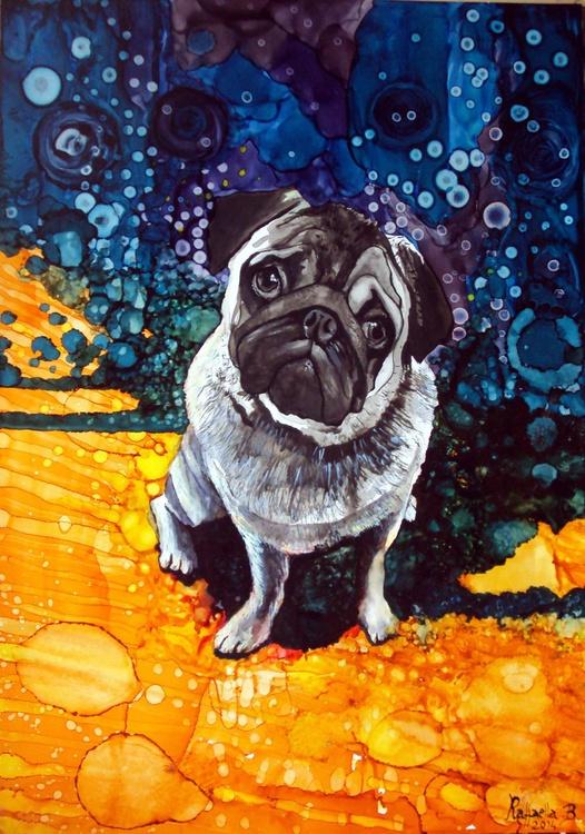 Psychedelic Pug - Image 0