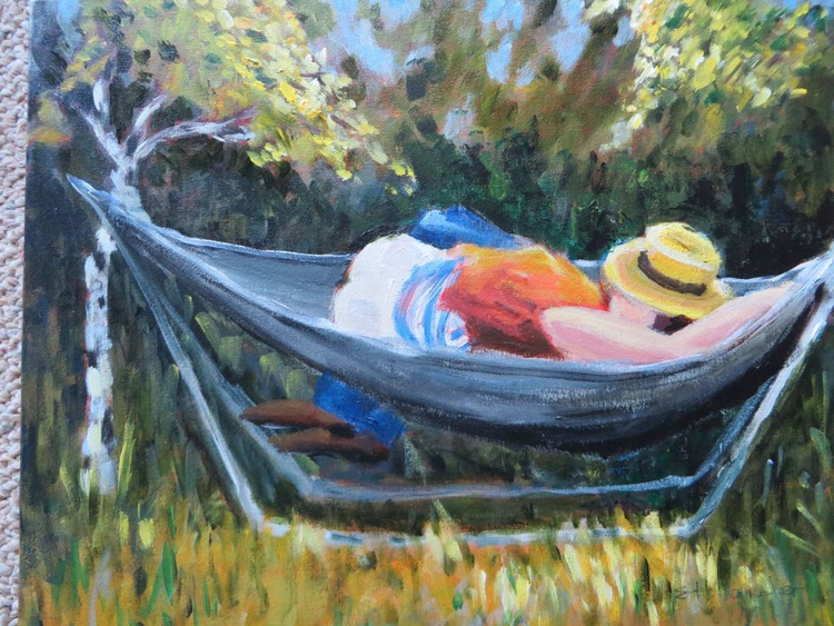 Couple in the Hammock - Image 0