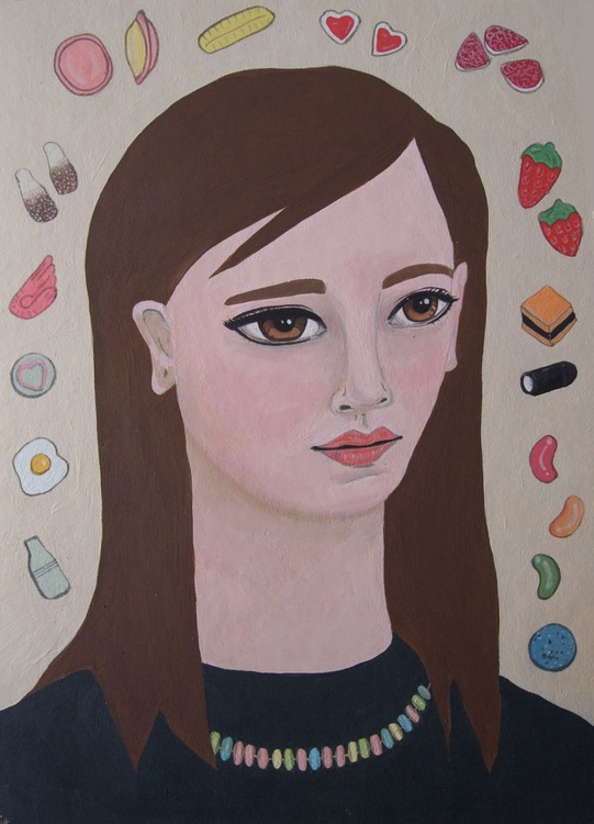 Portrait with Penny Sweets - Image 0