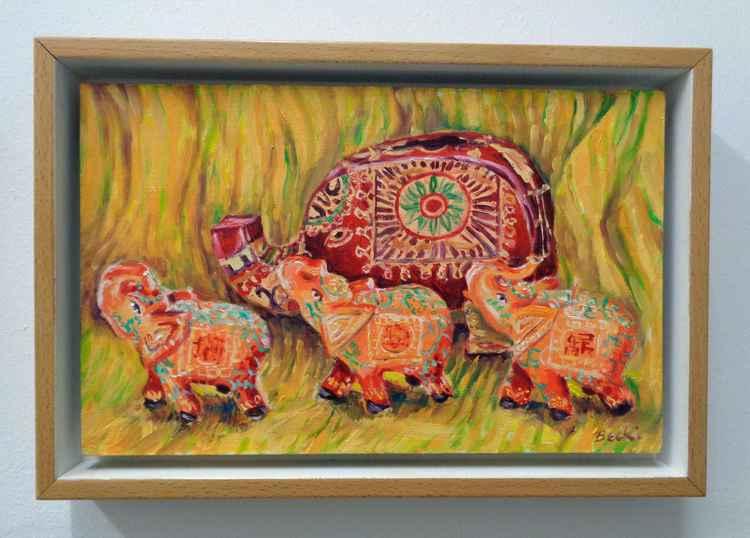 Indian Elephants -