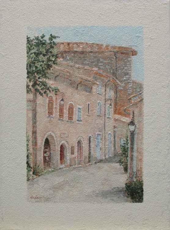 European city scene 4 -