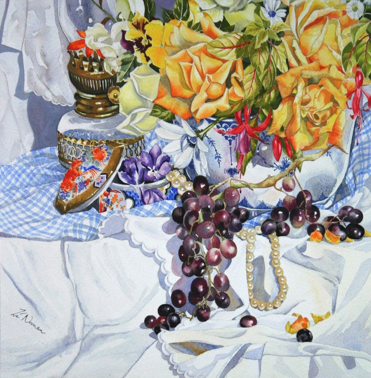 Still Life with Pearls - Image 0