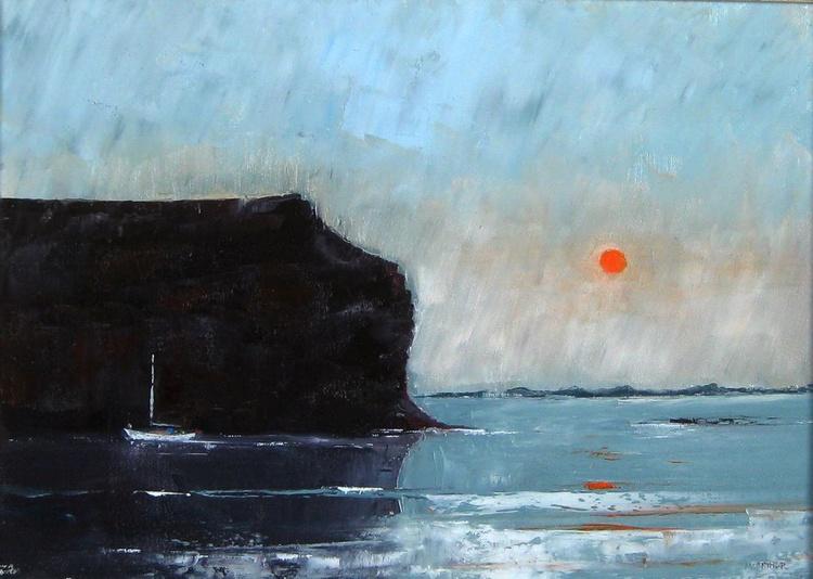 Evening Passage Through Calf Sound - Image 0