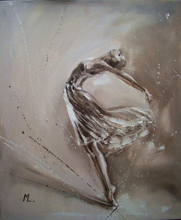 """ BALLET - girl in grey "" - Image 0"