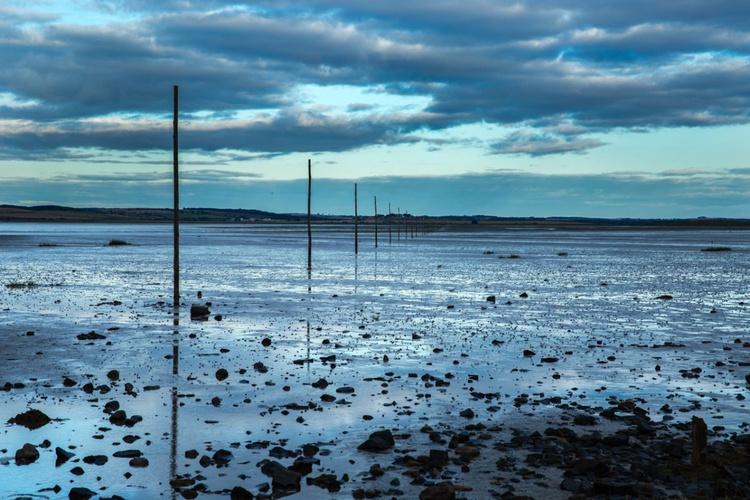 Pilgrims' Way, Holy Island, Northumberland - Image 0