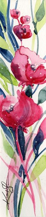 Itsy Bitsy Blossoms 3 - Original Tiny Watercolor - Image 0