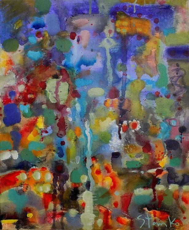 Just rainy-VII (Homage to Pierre-Auguste Renoir) - Image 0