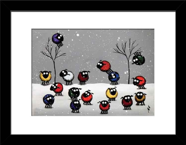 A Little Winter Re-ewe-nion