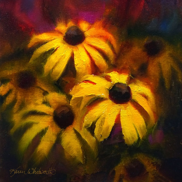 Bold and Beautiful Black Eyed Susans - Yellow Wildflowers - Image 0