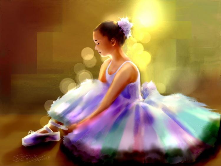 Ann Ballerina girl - Image 0