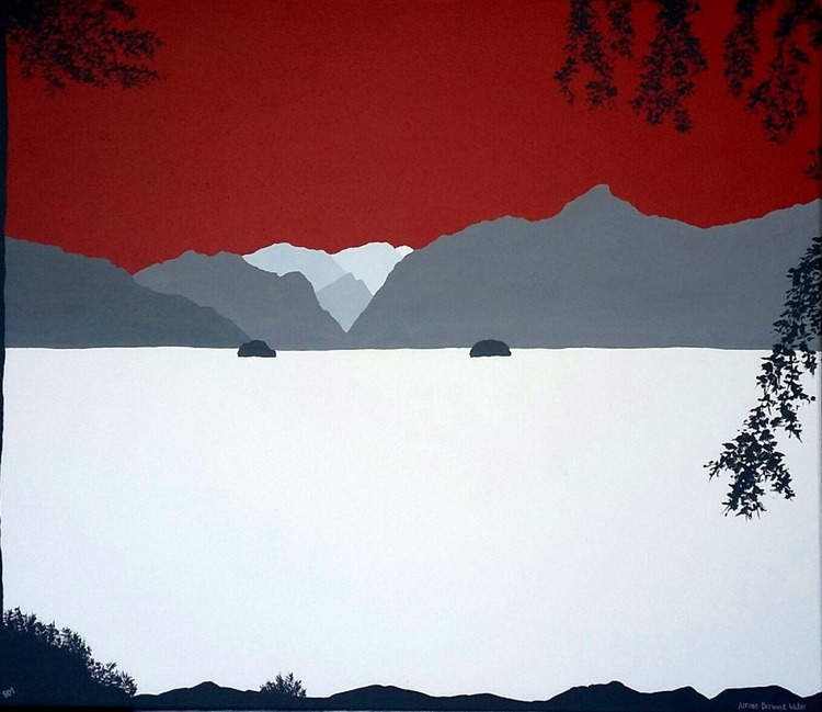 Across Derwent Water, The Lake District - Image 0