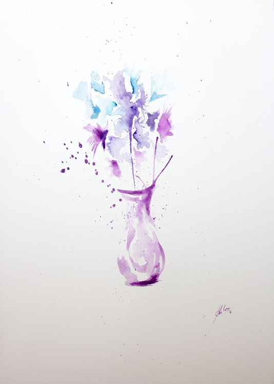 Violet folwers -