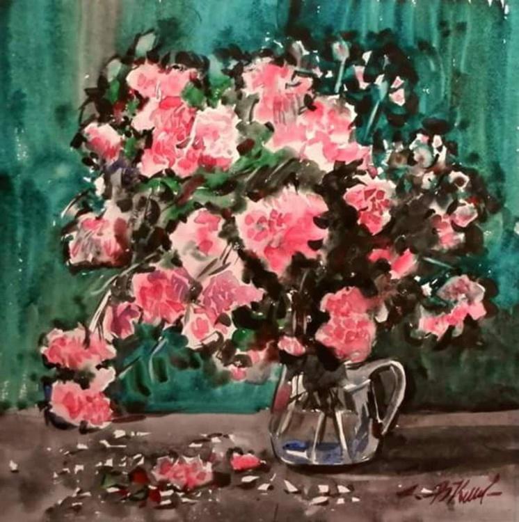 Flowers, 50x50 cm - Image 0