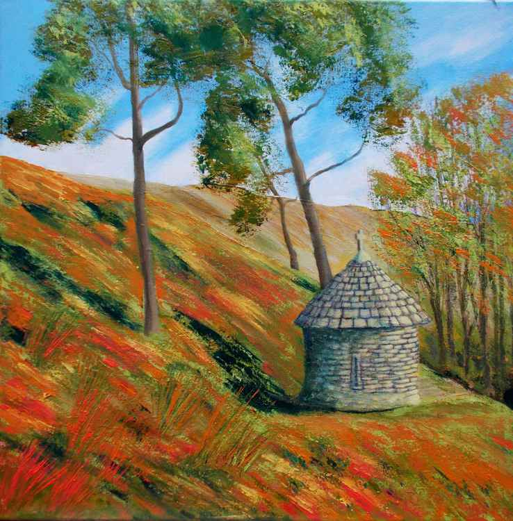 Autumn, The Honeypot Shrine, Goyt Valley -