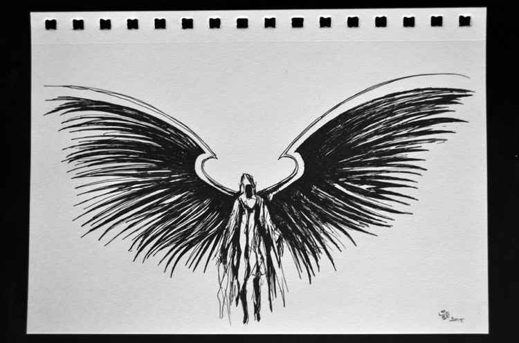 Angel Sketch -