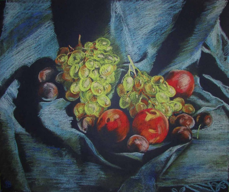 Grapes and Peaches - Image 0