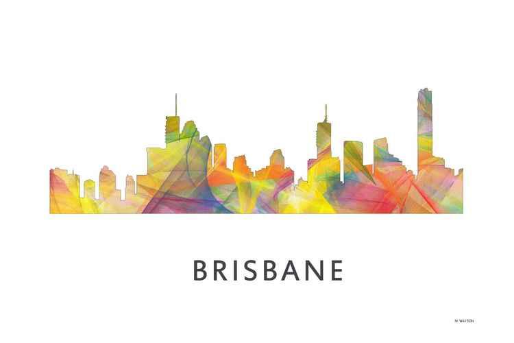 Brisbane Queensland Australia Skyline WB1 -