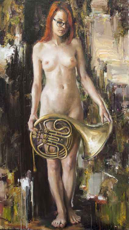 'Only music' series: French Horn -