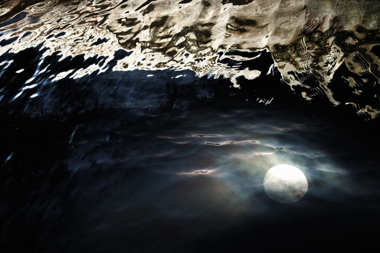 Moon in the Gutter (Ltd Edition of only 10 Large Fine Art Giclee Prints from an original photograph.) - Image 0