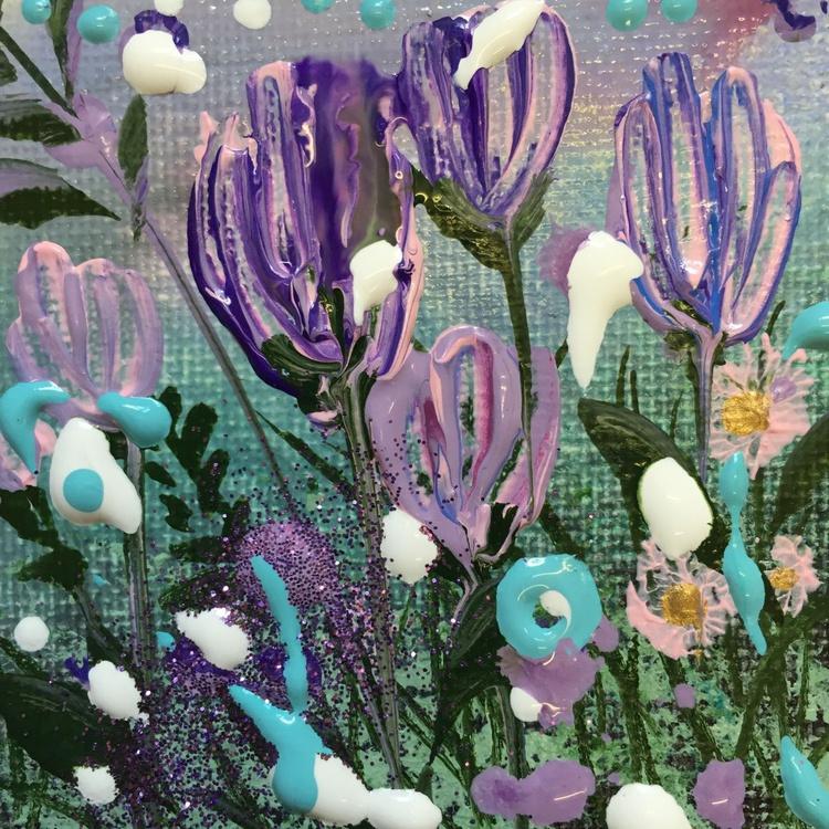 Purple summer sparkles mini x 2 - Image 0