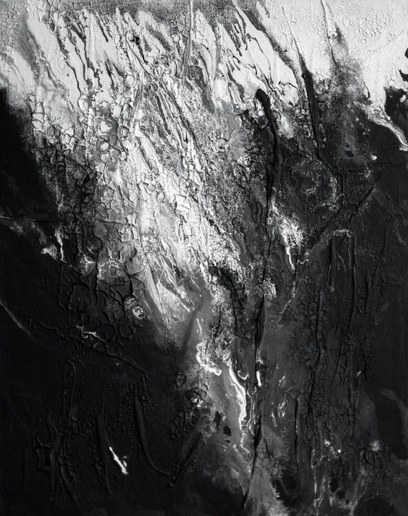 Enigma, Black and white, 16x20 - Image 0