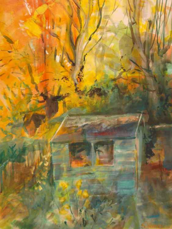 Autumn Shed 2 -