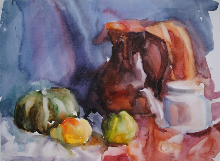Still life with fruits (sketch) - Image 0