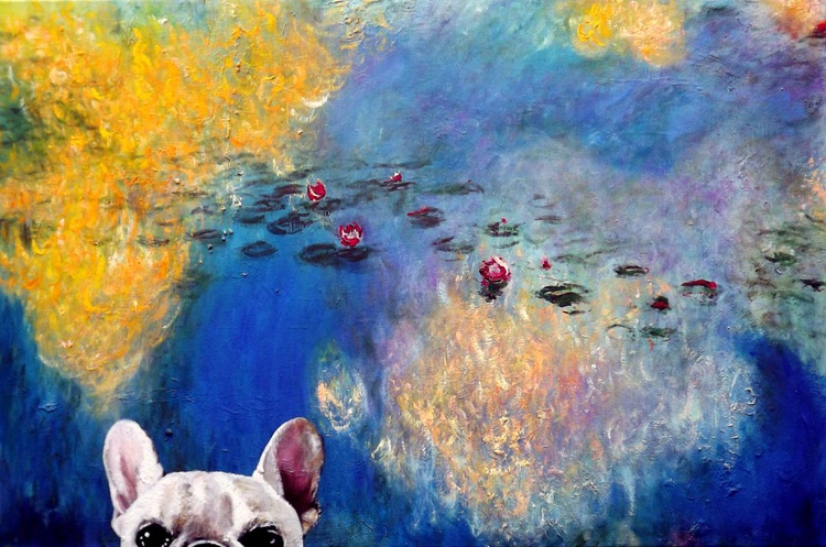 Classical Frenchie ( after Monet ) - Image 0