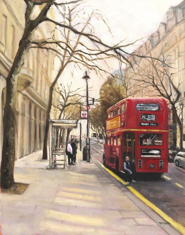 Taking a break, London - Image 0