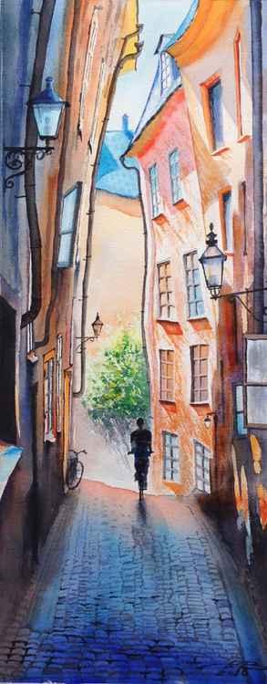 Street in Stockholm -