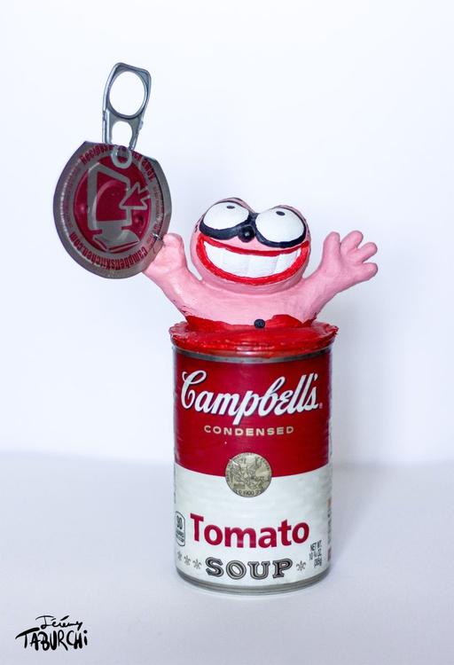 Campbells'Soup Pink Cat - Image 0