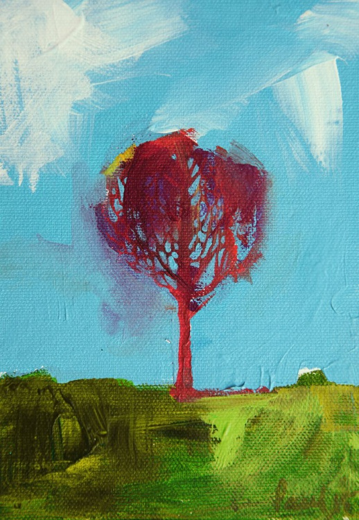 A Forest - Red Tree Somerset - Image 0