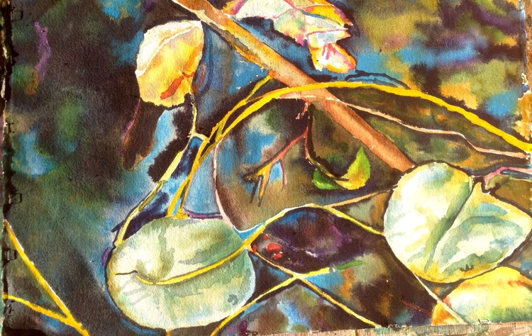 Lily Pond-watercolor - Image 0
