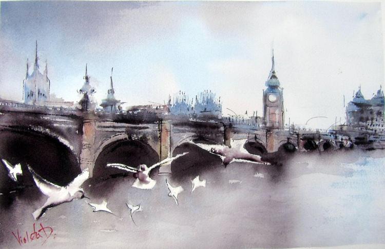 Westminster Bridge Seagulls - Image 0