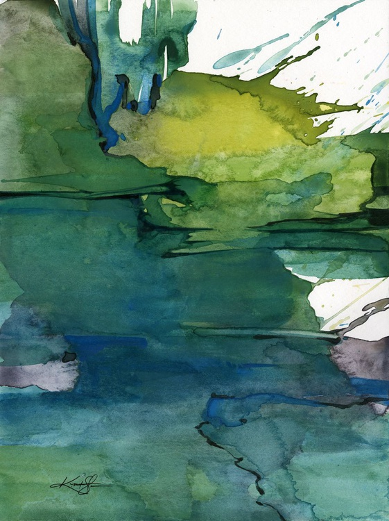 Ethereal Moments 1 - Abstract Watercolor Painting - Image 0