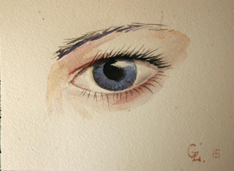 Glance. Blue. - Image 0