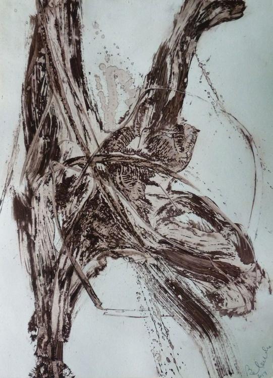 Acrylic on paper #60, 29x42 cm - Image 0