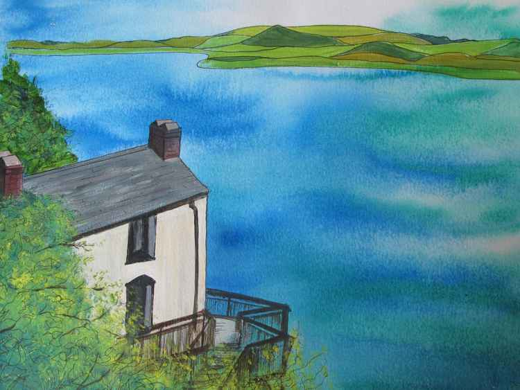 The Boathouse, Laugharne -