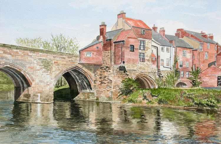 Elvet Bridge Durham -