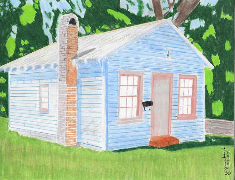 Old Blue House -