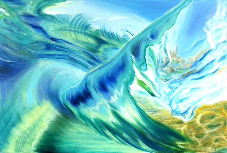 """The Breath of the Ocean VII 24x36"""" - Image 0"""