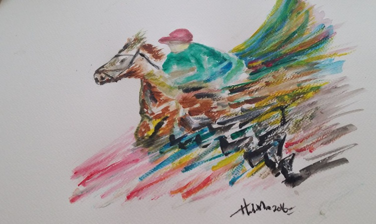 Flying Dragon Horse - Image 0