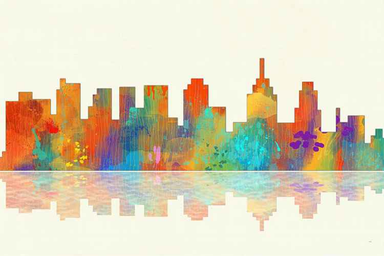 Skyline of Philadelphia 1 -