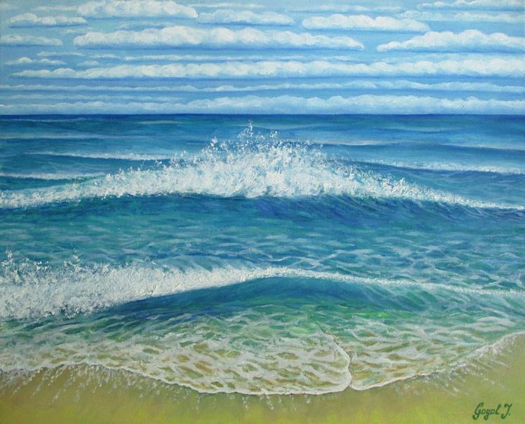 Kiss of sea waves - Image 0