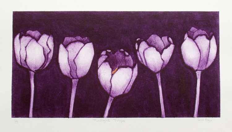 SALE Twilight Tulips -