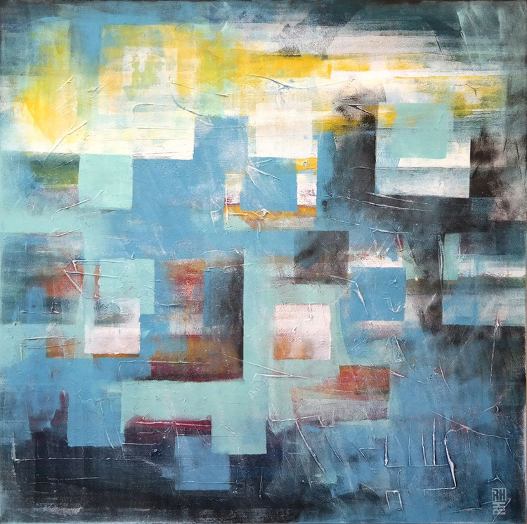 Squared City blue - 80 - Image 0