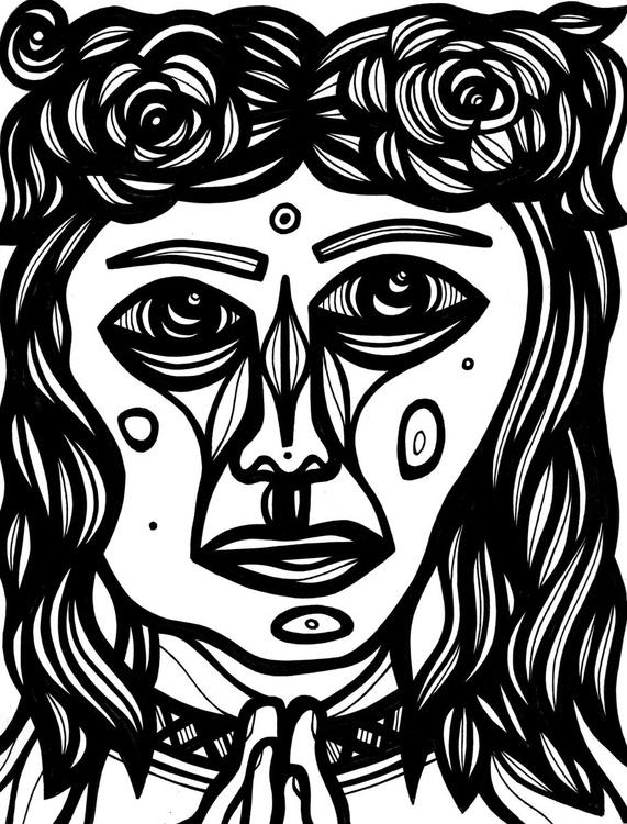 Effulgent Princess Original Drawing - Image 0